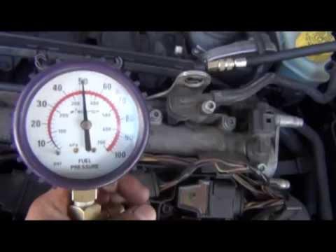 Rangos De Presiones En La Bomba De Combustible De Gasolina Youtube