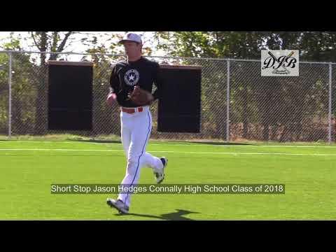 Short Stop Jason Hedges Connally High School Class of 2018