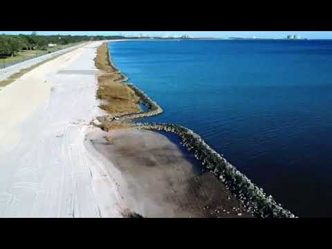 Pascagoula Mississippi Beach - DJI Spark