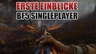 Das sieht man im Battlefield 5 Singleplayer Trailer...