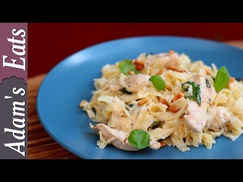 Really easy creamy chicken pasta | simple chicken recipes