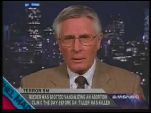 Dr George Tiller Associate Condemns Domestic Terrorists