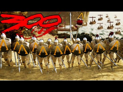300 SPARTANS!  Formata Battle of Thermopylae!  (Formata Gameplay)