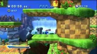 Sonic Generations - Green Hill Acte 2 - Défi 1 : Attention en bas !