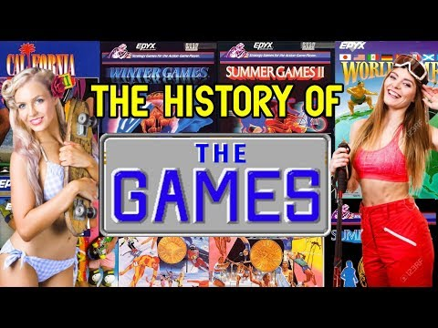 The History Of Epyx The Games Series - Video Game Documentary
