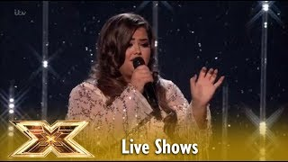 "Scarlett Lee Sings A Star Is Born ""I´ll Never Love Again"" Live Shows 4 