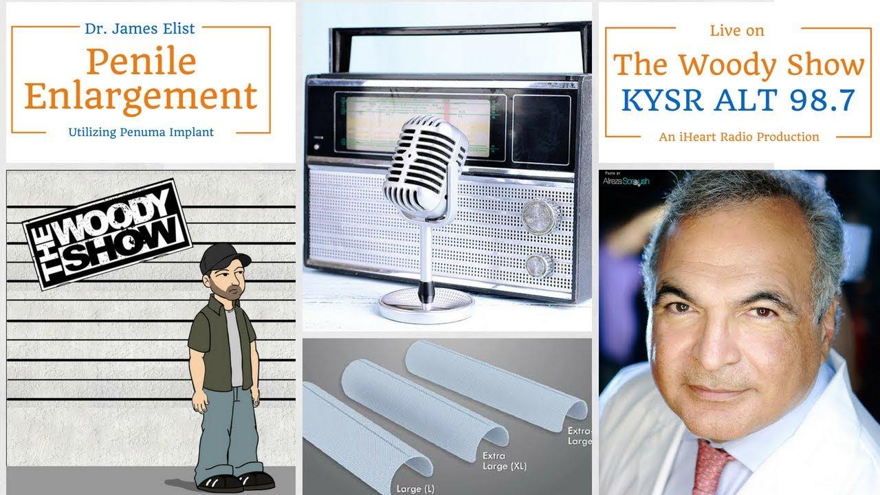 Dr Elist on The Woody Show - Penuma Penile Enlargement Implant Reviews