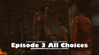 The Walking Dead Michonne Game Episode 3 What We Deserve All Choices / Alternative Choices