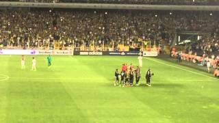 Fenerbahçe Shakhtar Donetsk maçı Tribünler Şükrü Saraçoğlu stadı Kadıköy