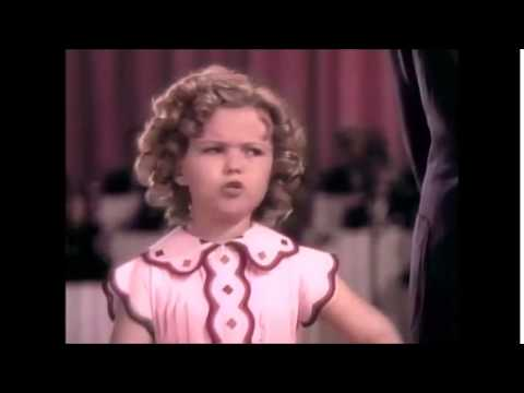 Shirley Temple You've Gotta Eat Your Spinach Baby From Poor Little Rich Girl 1936
