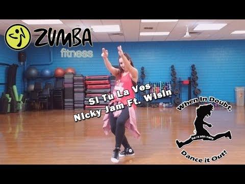 Zumba® with Kathy - Si Tu La Ves (Nicky Jam Ft Wisin) [HD]