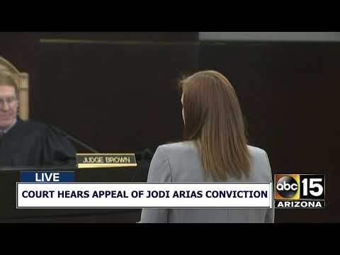 NOW: Jodi Arias Murder Trial Appeal -- Court Hearing Appeal Of Jodi Arias' Murder Conviction