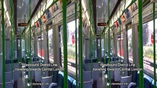 3D Dagenham East - Elm Park train ride.