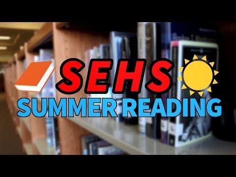 South Elgin High School Senior Summer Reading List- Book Trailers