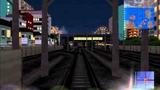 A21C自作街 飛島市 嶺城本線新快速列車 展望動画