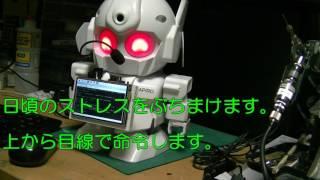 RAPIRO Raspberry PiでIOT? おしゃべりロボット実験 その5