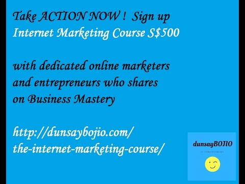 New Internet Marketing Course Singapore Malaysia Best Internet Marketing Courses best SEO course