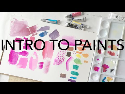 Intro to Paints for Fashion Designers & Illustrators