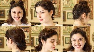 Quick & Easy Heatless Hairstyles!