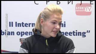 Daria Klišina očekuje podršku publike na II