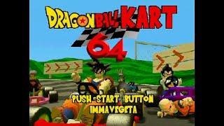 Dragon Ball Kart 64 Beta (Real N64 Capture)