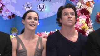Tessa Virtue, Scott Moir Free Dance at 2016 NHK Trophy | CBC Sports