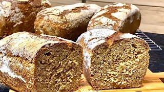 МАЛО КТО ЗНАЕТ ЭТОТ РЕЦЕПТ/ TE КТО ПРОБОВАЛ этот ХЛЕБ ПРОСЯТ ЕЩЁ/Рецепт полезного Хлеба от Элины