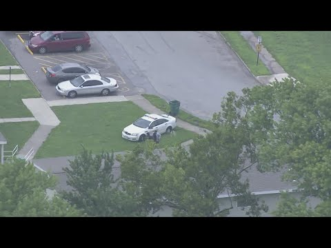 Watch Live: Police chase ends with foot pursuit in Centreville