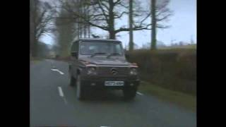 Old Top Gear 1991 - Toyota Land Cruiser, Range Rover and Mercedes G Wagon