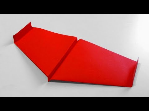 How to make a BIONIC PAPER PLANE | AIRPLANE