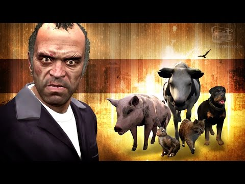 GTA 5 - Trevor's Peyote Hallucinations (All Dialogues)