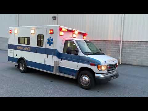 2000 Ford E450 PL Custom Used Ambulance For Sale By Pilip Customs Ambulances In Pennsylvania