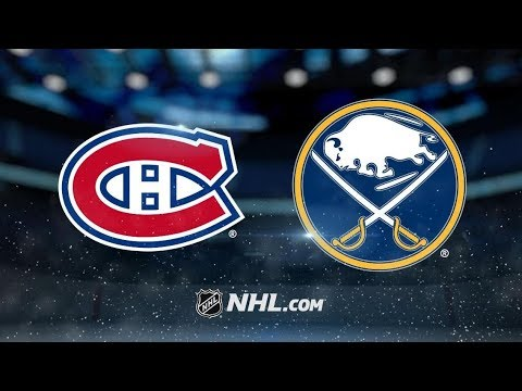 Montreal Canadiens vs Buffalo Sabres | Nov.23, 2018 | Game Highlights | NHL 2018/19 | Обзор Матча