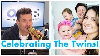 Celebrating The Twins First Birthday! | On Air With Ryan Seacrest