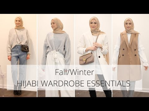 Top 10 Hijabi Wardrobe Essentials | Fall/Winter Outfit Ideas - YouTube