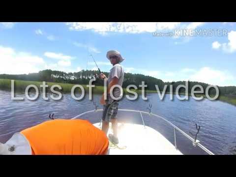 Fishing with Garrett and Kathleen