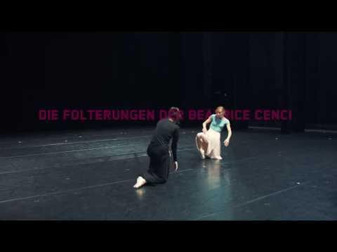 Proben zu »Die Folterungen der Beatrice Cenci« am Saarländischen Staatstheater