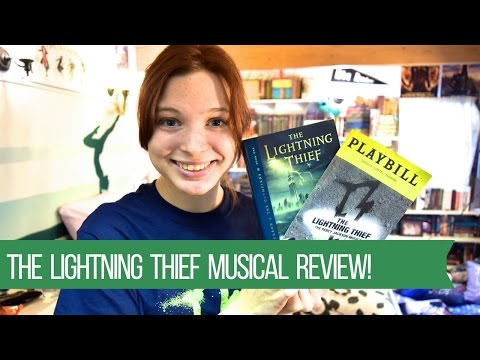 The Lightning Thief Musical Review!