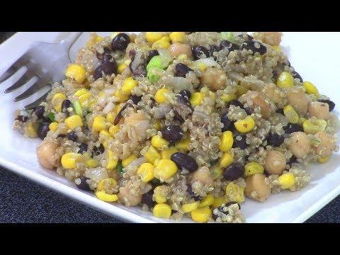 HOW TO COOK A DELICIOUS QUINOA RECIPE! /Healthy Recipes