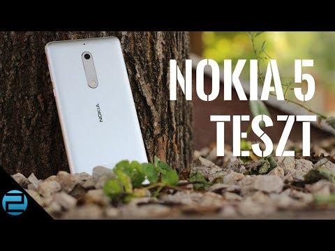 Csinos, de ez kevés!   Nokia 5 teszt
