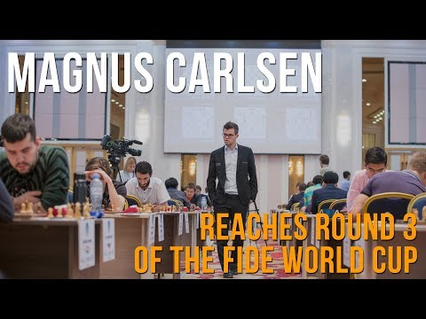 Magnus Carlsen on reaching round 3 of the World Cup