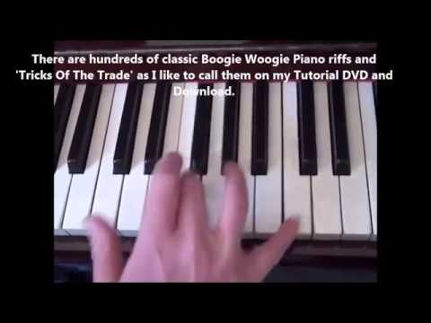 How To Play A Piano Boogie Woogie Smash by Terry Miles