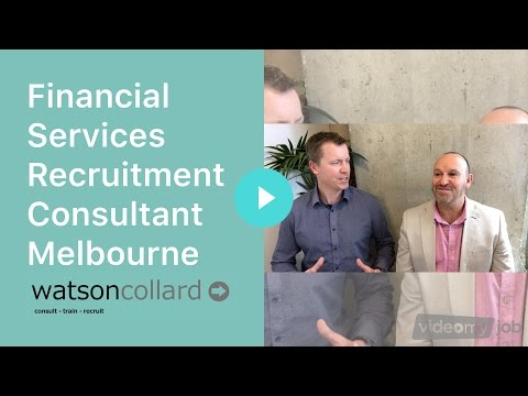 Financial Services Recruitment Consultant Melbourne