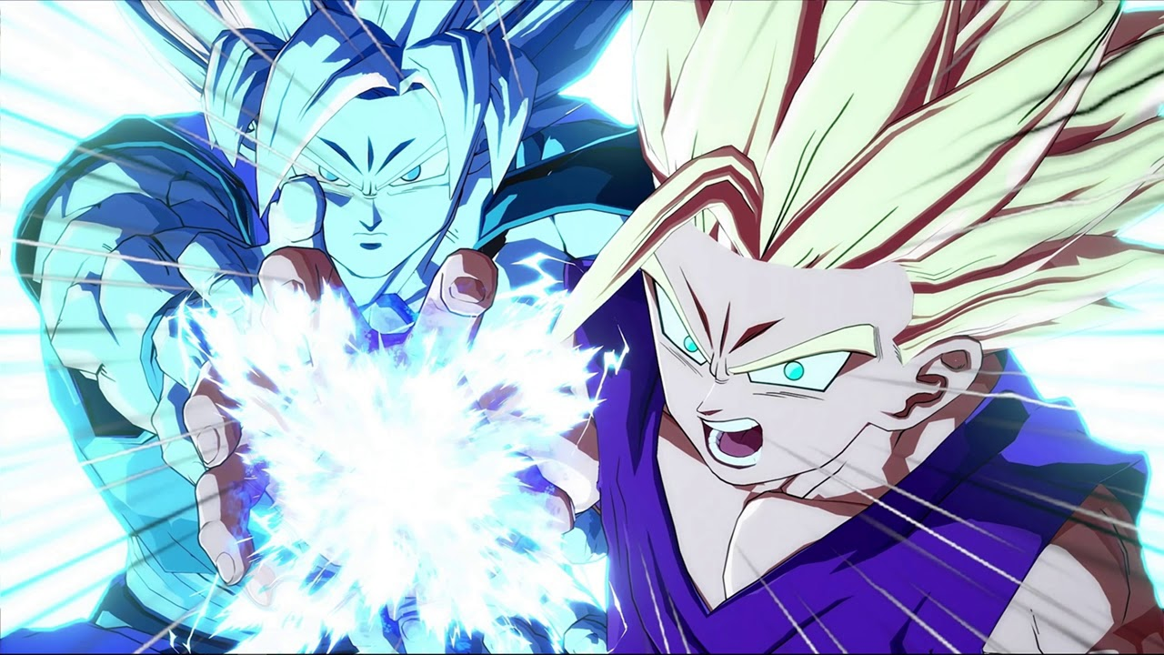 Father-Son Kamehameha made with Live Wallpaper Master ...