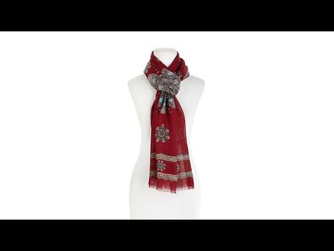 Modal Scarf - RED ROSE by VIDA VIDA ugdfts