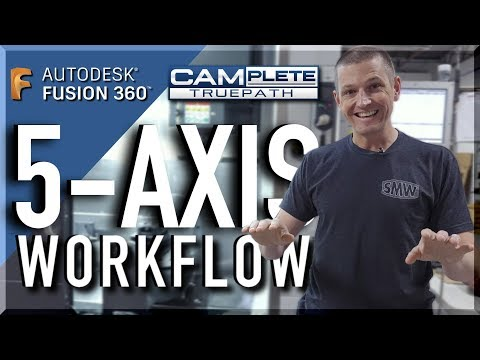 5-Axis is AMAZING!  Sharing our CAD, CAM & Fixturing Workflow!