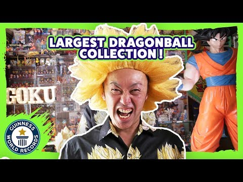 Largest Dragon Ball Collection - Meet The Record Breakers Japan