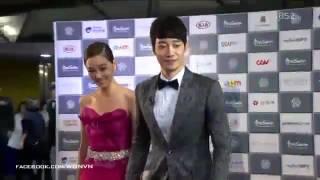 [Video][131003] Lee So Yeon ❤ YoonHan @Red Carpet of 18th Busan International Film Festival