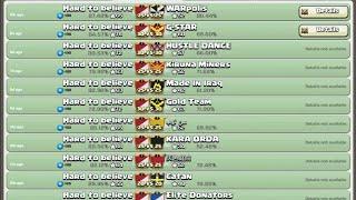 Clash of Clans - Clan War - Hard To Believe vs WarPolis