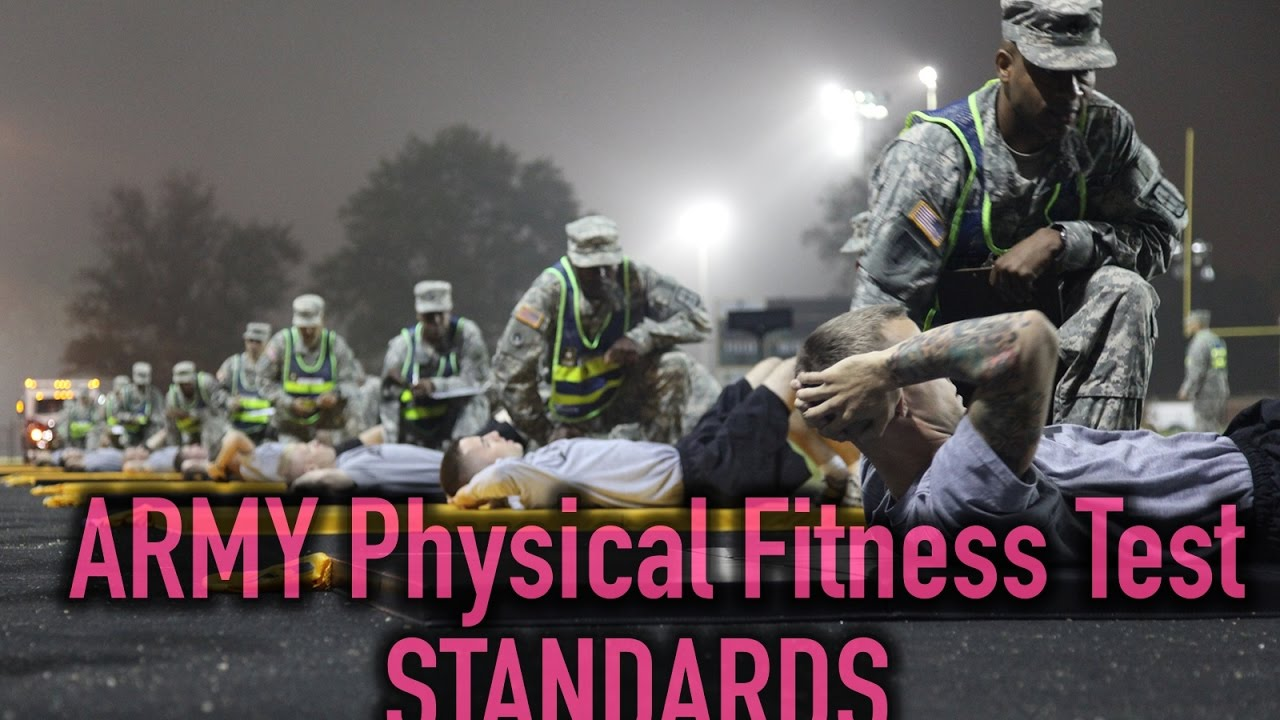 Army apft regulation tc - Army Physical Fitness Test Standards